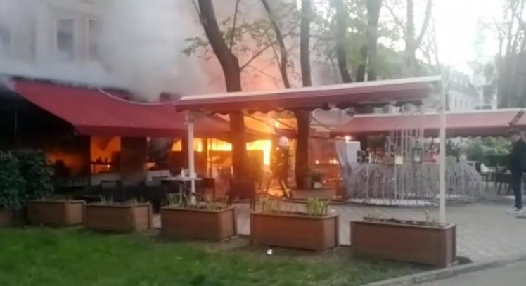 Пожежа в ресторані
